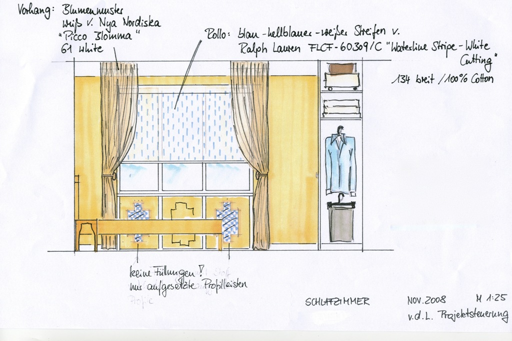 Fensteransicht Entwurf