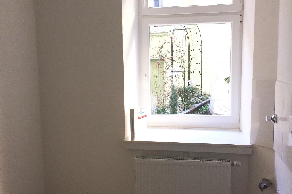 Kaffe Kueche Fensteransicht vorher