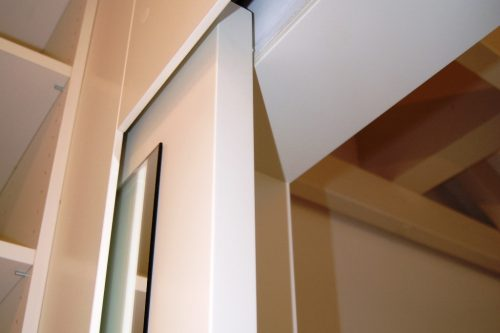 Schlafzimmer Ankleide Detail - Schiebetuer |