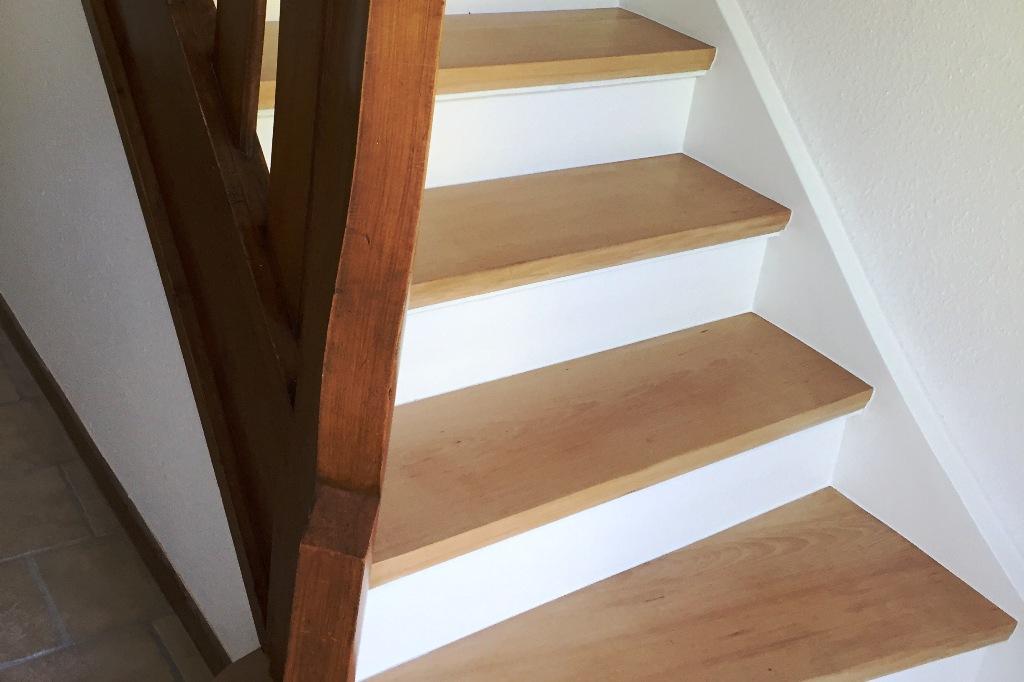 Treppenantritt nachher